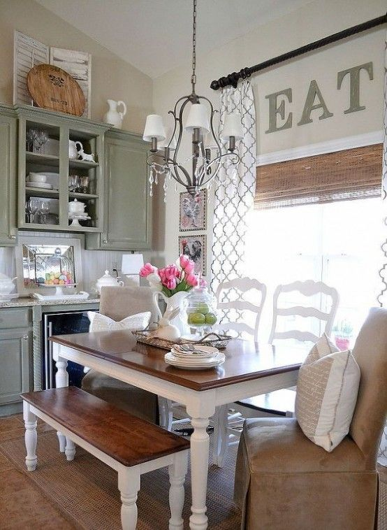 33 Inviting And Cute Vintage Dining Rooms And Zones | DigsDigs .