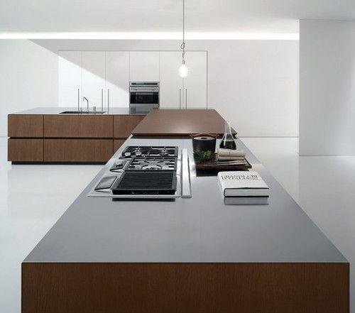 Pin by Tyler Goodro on Modern Kitchens | Custom kitchens design .
