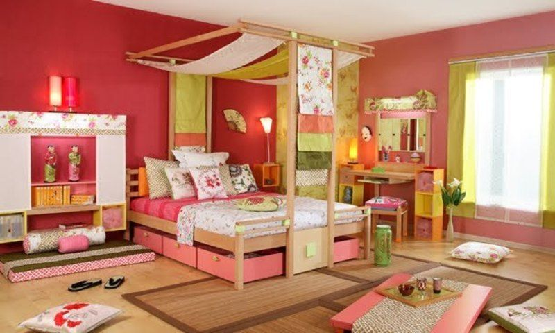 Vibel Japanese Style Child Bedroom | Japanese bedroom, Japanese .