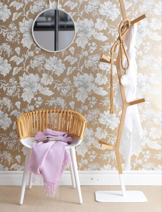 Japanese-Inspired Feminine Bedroom Design - DigsDi
