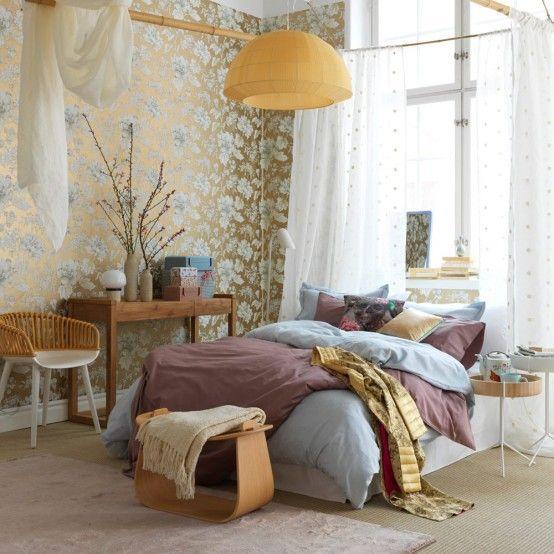Japanese-Inspired Feminine Bedroom Design | DigsDigs | Feminine .