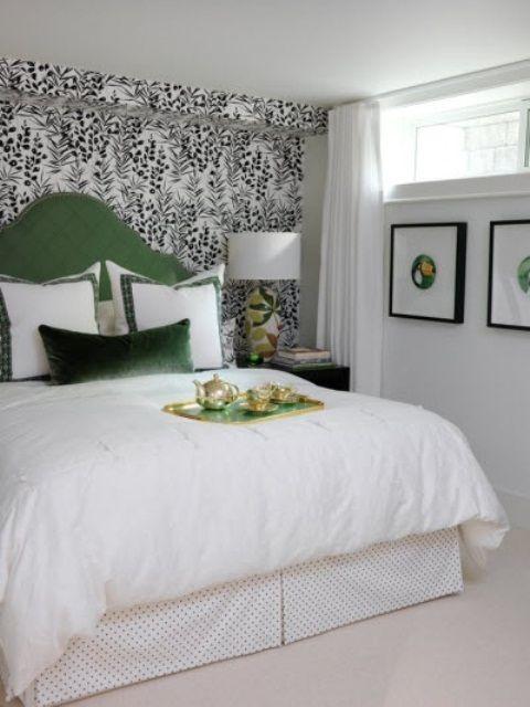 59 Excellent Juicy Green Accents In Bedrooms Ideas: 59 Excellent .