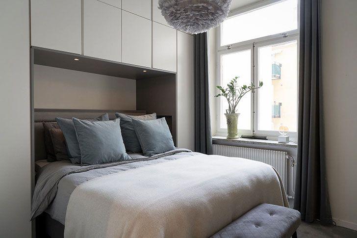 Minimum of furniture and maximum comfort: laconic Swedish .