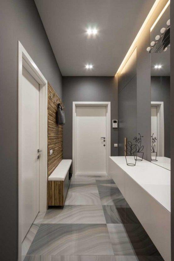 Modern Apartment With Stylish Laconic Design   Wohnungseingang .