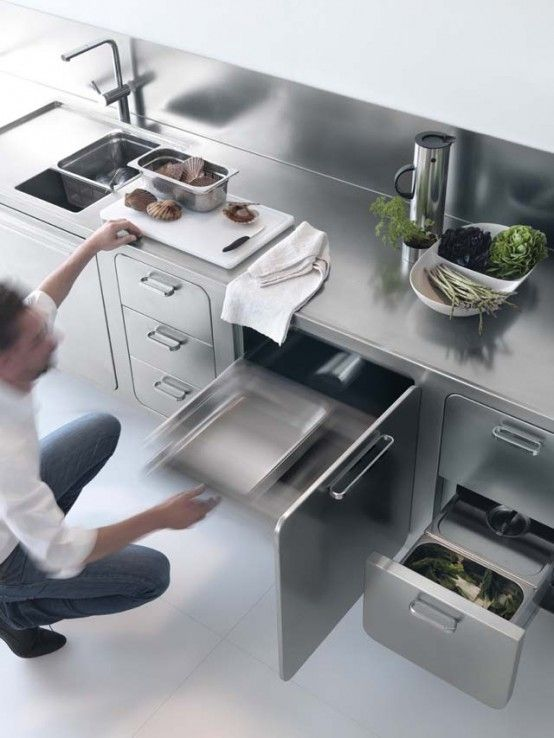 Laconic Stainless Steel Abimis Kitchen For Home Chefs | Steel .