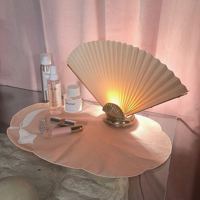 "Attic Box on Instagram: ""SOLD// I love this boudoir lamp! Brass ."