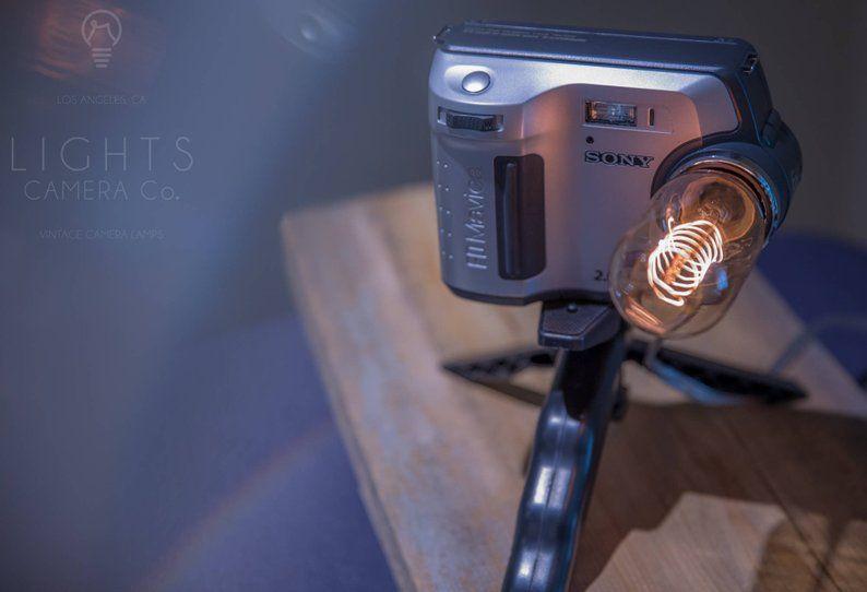 vintagecameras #lamp #cameralamp #vintagecameralamp #homedecor .