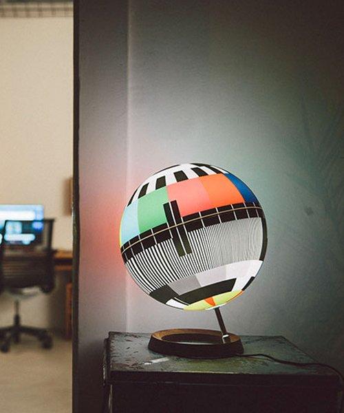 simon forgacs' MONO LAMP captures iconic TV test car