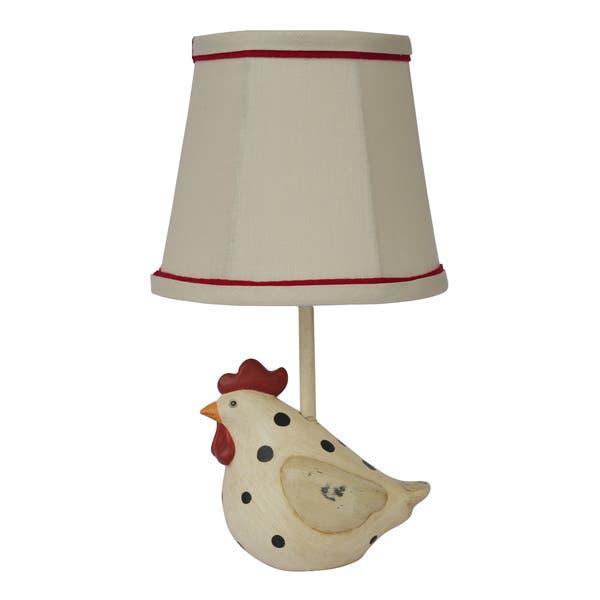Shop Somette Big Fat Hen Polka Dot Table Lamp - Overstock - 86444