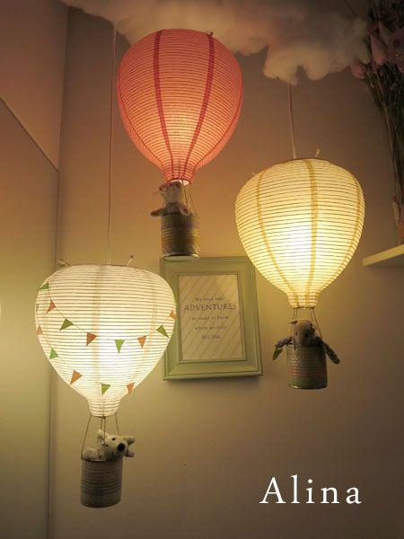 Magical light | Balloon lights, Baby girl room, Balloo