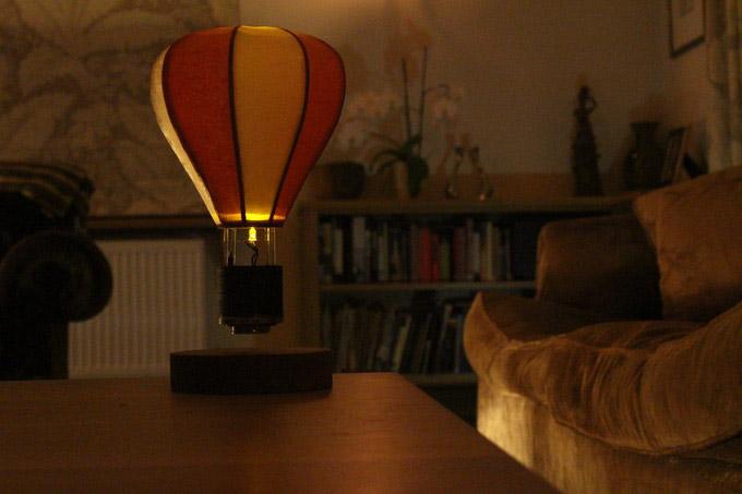 Float Levitating Lamp Looks Like a Tiny Hot Air Ballo