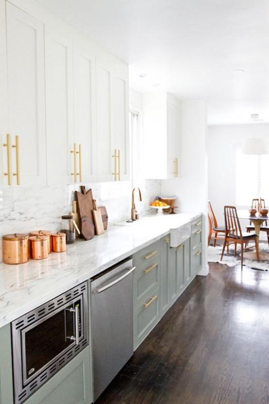 73 Stylish And Atmospheric Mid-Century Modern Kitchen Designs .