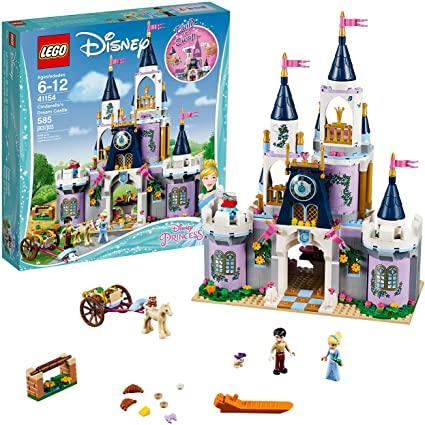 Amazon.com: LEGO Disney Princess Cinderella's Dream Castle 41154 .