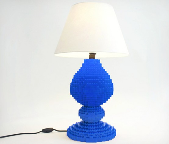 LEGO Table Lamp To Realize Children's Dreams - DigsDi