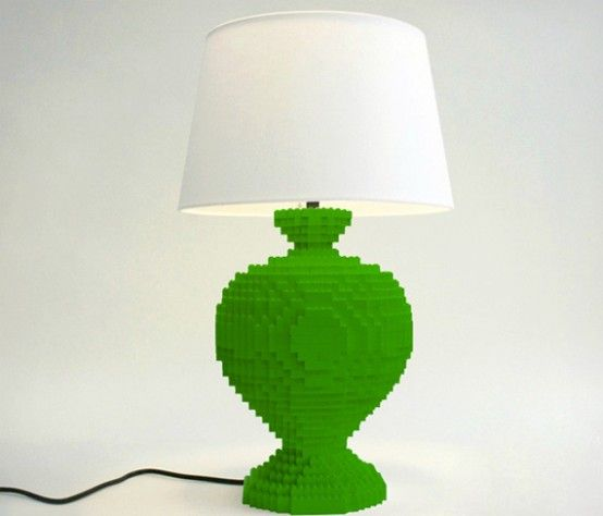 LEGO Table Lamp To Realize Children's Dreams   Lego lamp, Lego .