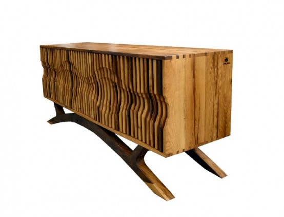 Life' Chest Of Drawers Made Of A Centuries-Old Oak Tree - DigsDi