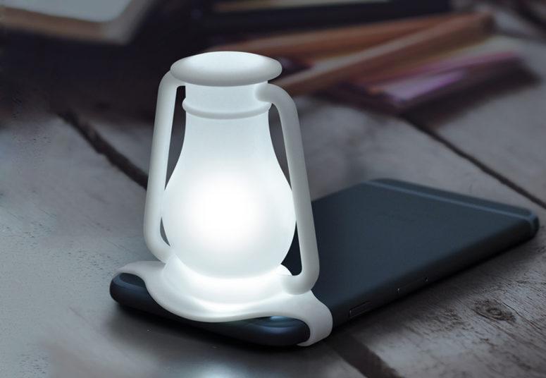 Silicone Travelamp Light Diffuser For Smartphones - DigsDi