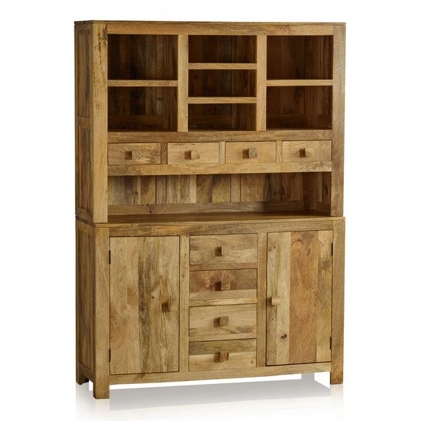 Handmade 100% Solid Natural Mango Dressers - Large Dresser .
