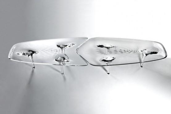 الطاولة الجليدية السائلة بنمط دقيق جداً بالصور ! :: السمي