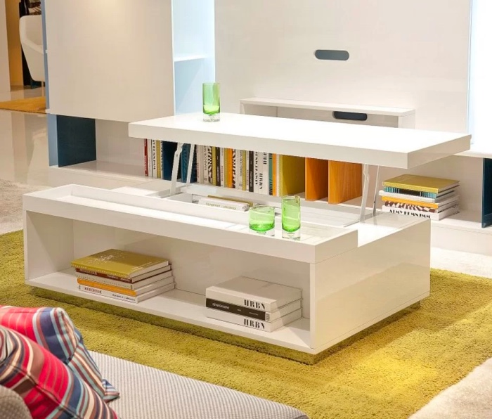 33 Beautiful Lift-Top Coffee Tables To Help You Declutter and .