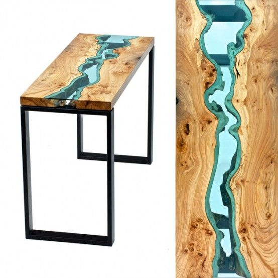 Cool Living Edge Tables Welcoming Natural Imperfections : Cool .
