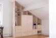 Built in Birch Plywood Cabinet/ Wardrobe | Plywood interior .