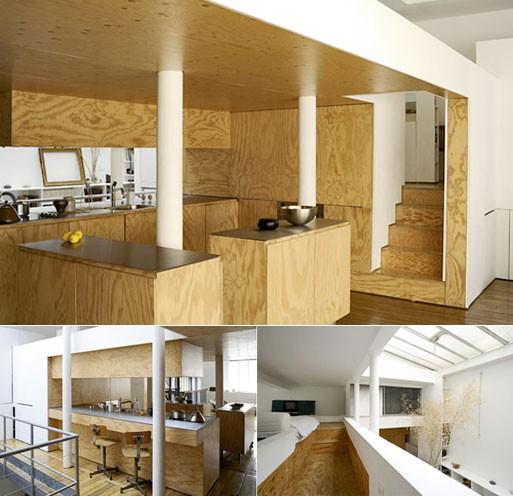 Paris Loft (plywood) — Build/Materials -- Better Living Through Desi