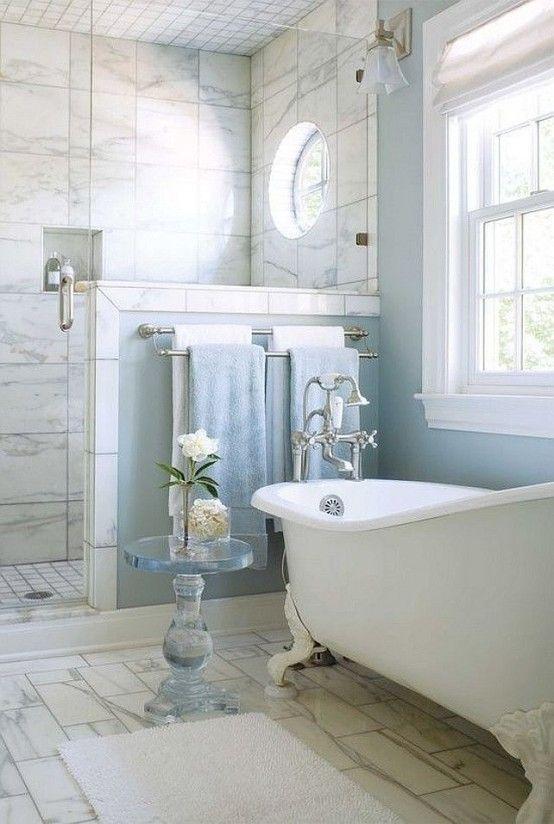 28 Lovely And Inspiring Shabby Chic Bathroom Décor Ideas .