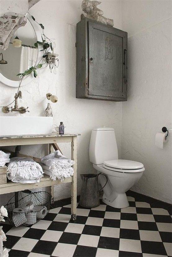 28 Lovely And Inspiring Shabby Chic Bathroom Décor Ideas | Chic .
