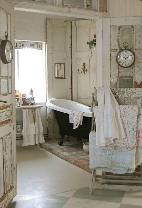 Cute Shabby Chic Bathroom Decor Ideas | Shabby chic bathroom decor .