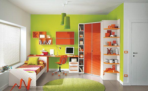50 Lovely Children Bedroom Design Ideas | DigsDigs | Green bedroom .