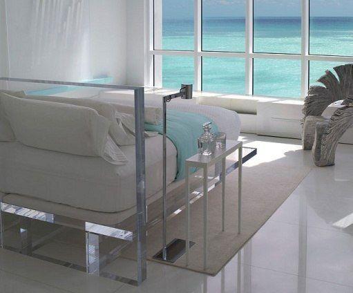 Transparent Furniture | Unique bed design, Acrylic furniture .