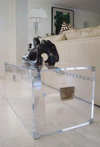 46 Inspiring Lucite Acrylic Furniture Ideas For Room in 2020 .