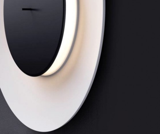 Lunaire Wall Lamp Inspired By Moon Eclipses - DigsDi
