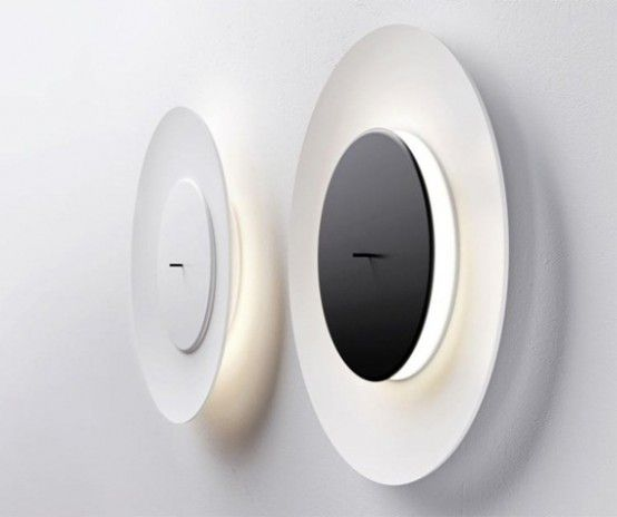 Wall lighting - designed to look like a lunar eclipse - stunning .