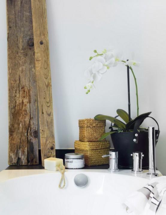 Luxurious Bathroom Design Looking Like A Home SPA - DigsDi