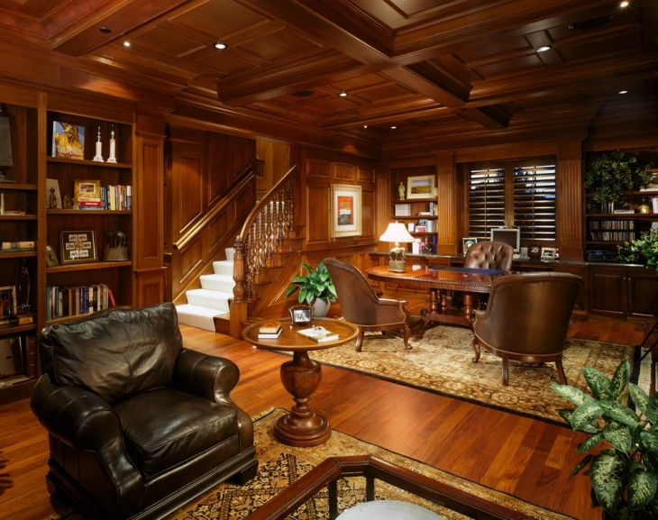 Discover this luxurious home offices, where you can work doing the .