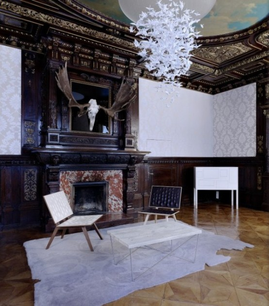 Luxurious Gentlemen's Office In Victorian Style - DigsDi