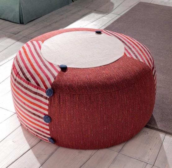 Luxurious TreCi Salotti Upholstered Furniture Collection - DigsDi