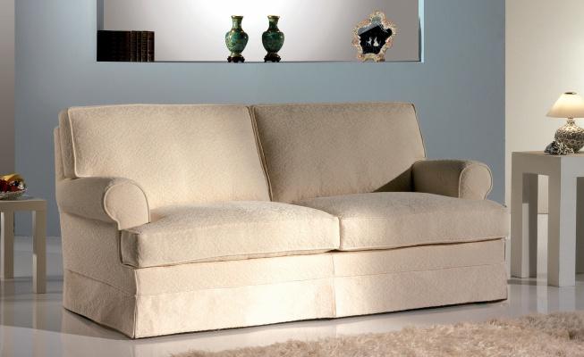 Sofa double shrouded Topazio, TreCi Salotti - Luxury furniture