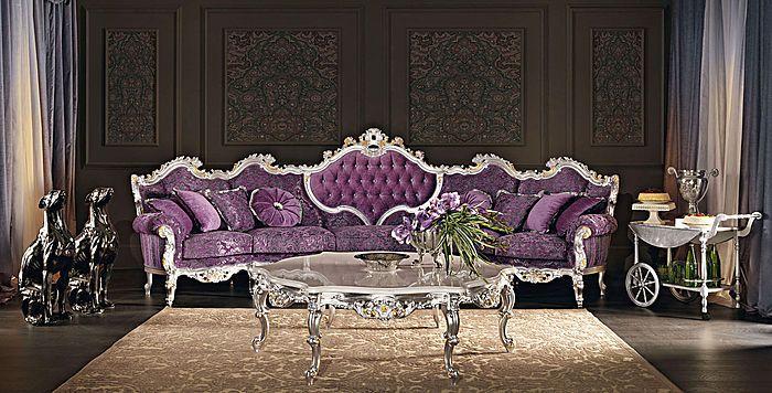 5-seat sofa - Villa Venezia collection - Modenese Gastone Luxury .