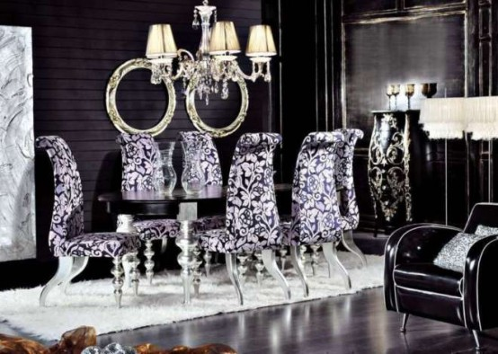 Interior Design: Luxury Classic Dining Room Furniture by Modenese .