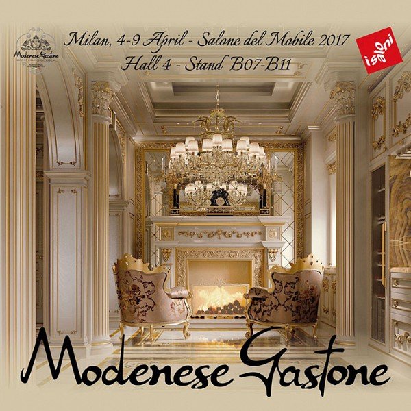 IL SALONE DEL MOBILE IN MILAN: MODENESE GASTONE BACK ON STAGE WITH .