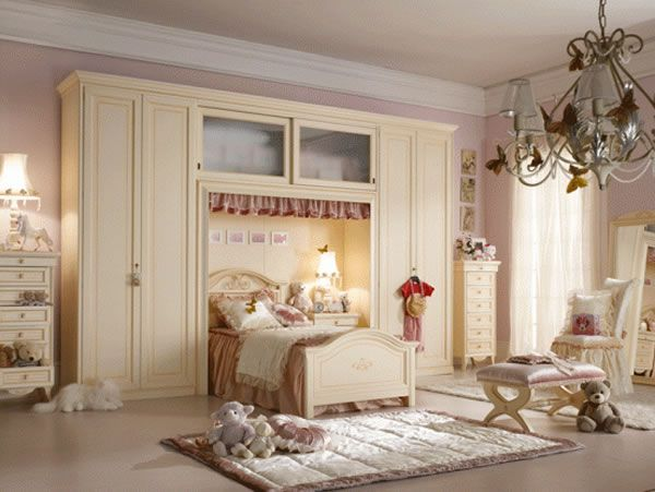 House Designs: Girls Bedroom Design Ideas For PM4, Pampered In Luxu