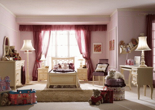 Luxury-Girls-bedroom-designs-by-Pm4-3-554x392   home space   Flic