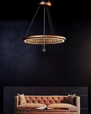 Swarovski Lighting Reveals Luxury New Infinite Aura Collection .