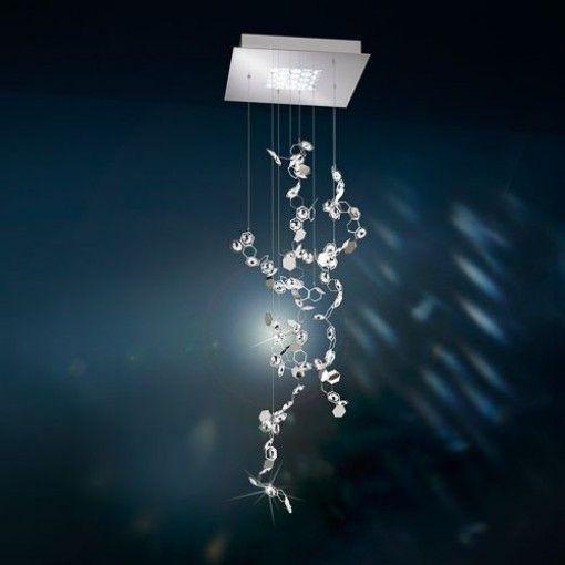 Crystalon Square Pendant by Swarovski in 2020   Crystal lighting .