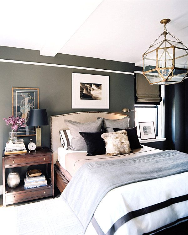 His and Hers: Feminine and Masculine Bedrooms That Make a Stylish .