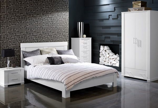 textures and clean lines | Masculine bedroom design, Masculine .