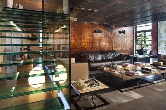 Masculine Style Italian Loft Design by Marco Dellatorre | Design Sw